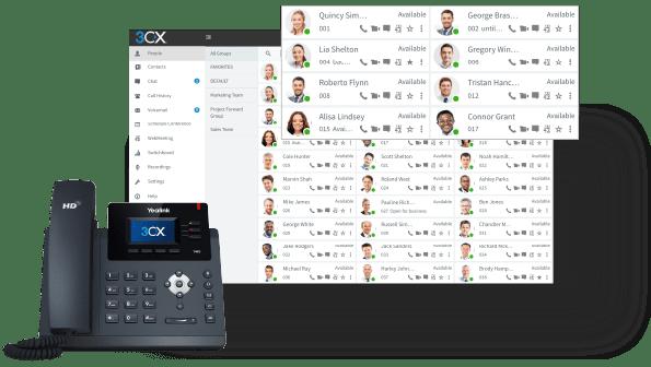 3cx-pbx-Telefoniesoftware